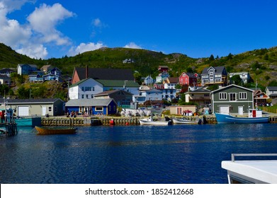 Fishing village of Petty Harbour near St. John's Newfoundland