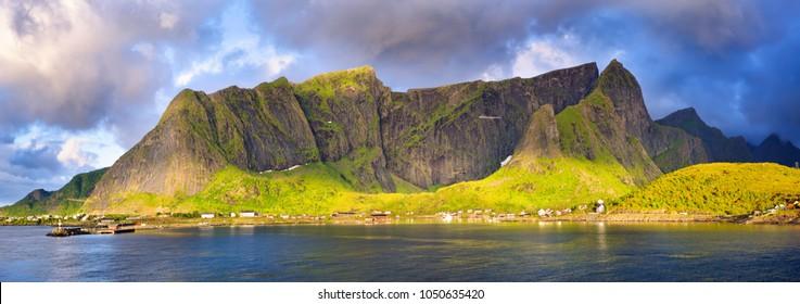 Fishing village of Reine, Lofoten Islands, Norway