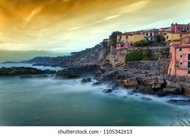 Fishing village - Tellaro - Ligurian sea - Italy