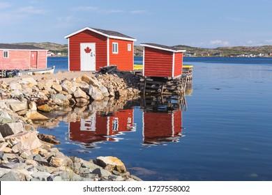 The fishing village of Tilting, Fogo Island, Newfoundland and Labrador, Canada