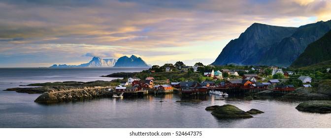 Fishing Village of Tind, Lofoten