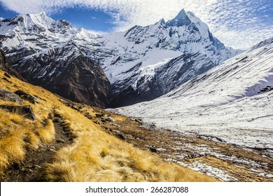 Fishtail Annapurna Himalaya