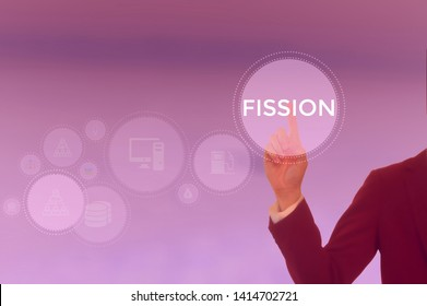 FISSION - technology and business concept