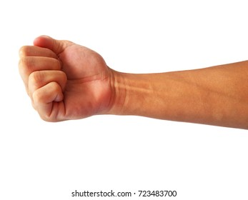 Fist gesture to fight