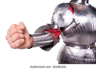 fist knight in armor