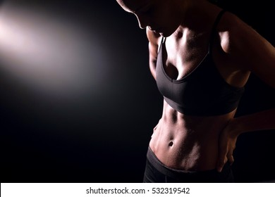 Fit girl physique