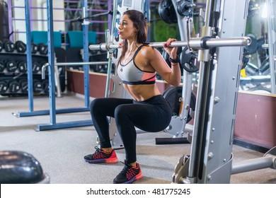 Mature candid squatting