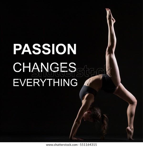 Fit Woman Doing Yoga Pilates Exercise Stock Photo Edit Now 551164315