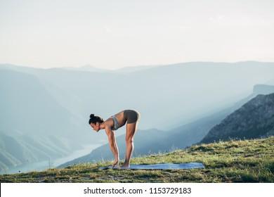 תוצאת תמונה עבור yoga halfway lift how to start doing yoga? How to start doing yoga? fit young girl practicing yoga 260nw 1153729183