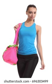 6e9f0b3366c3b1 Woman Carrying Gym Bag Stock Photos, Images & Photography | Shutterstock