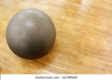 Fitness ball for yoga, pilates and other exercises.