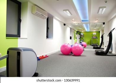 fitness center interior