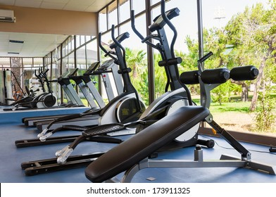 Fitness Facilities with views of nature