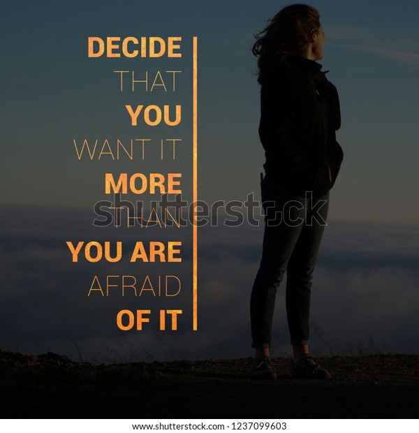 Fitness Motivational Quotes Gym Workout Exercise Stock Photo Edit Now 1237099603