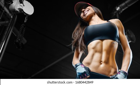 Woman Abs Images Stock Photos Vectors Shutterstock Combine this abs workout with a smart diet and weekly cardio, and you'll reach your goals in no time! https www shutterstock com image photo fitness woman pumping muscles workout pretty 1680442849