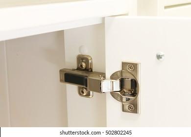 fitting wardrobe hinge doors in kitchen cabinet
