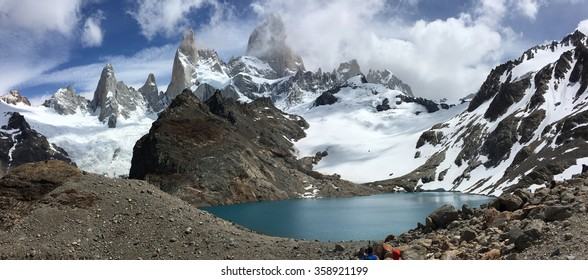 Fitz Roy and Laguna de los Tres in Argentina