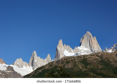 Fitz Roy massif in Los Glacares National Park (Patagonia), Argentina