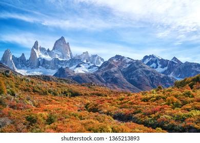 Fitz Roy mountain,  Patagonia, El Chalten - Argentina
