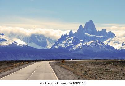 Fitz Roy Mt near El Chalten in Patagonia, Argentina