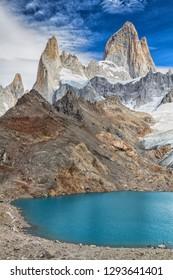 Fitz Roy peak, Los Glaciares National Park, El Chalten, Patagonia, Argentina