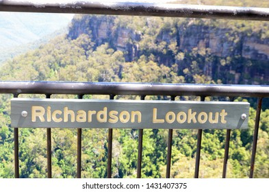 Fitzroy Falls, New South Wales, Australia. Nov 2014. There are many lookouts and scenic opportunities near the Fitzroy Falls in the Southern Highland of NSW.