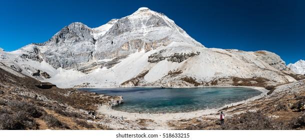 Five color lake/Yading national park / China