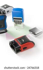 five color stamp