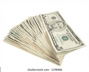 Five Dollar US Bills