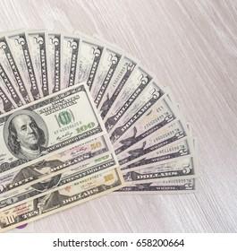 Five dollars dollars fan