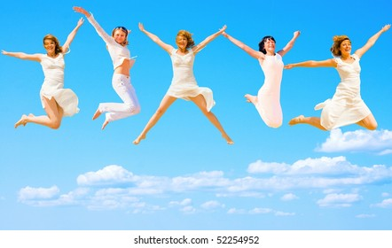 Five Flying Angels