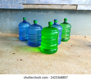 five of gallon of water image