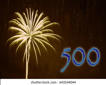 Five Hundred Firework.