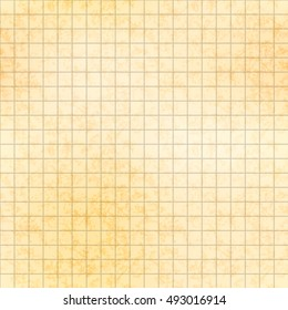 Old blueprint paper texture images stock photos vectors five millimeter grid on old yellow paper with texture seamless pattern malvernweather Gallery