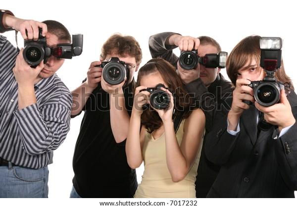 five photographers