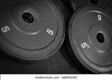 Five pound weight equipment for fitness lifestyle bodybuilding
