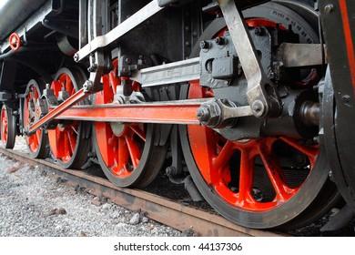 five wheels of engine