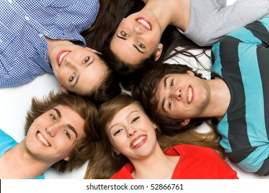 Five Young Teenagers
