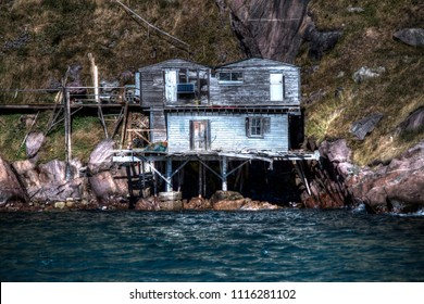 A fixer upper in St. John's, Newfoundland along the bass of signal hill