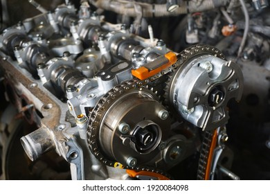 Fixing a car engine by local garage