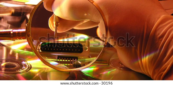 fixing hardware and software needs a gentle and clean touch