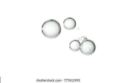 Fizz bubbles is isolated over a white background