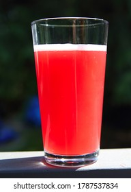 Fizzy glass of Fruit Kombucha