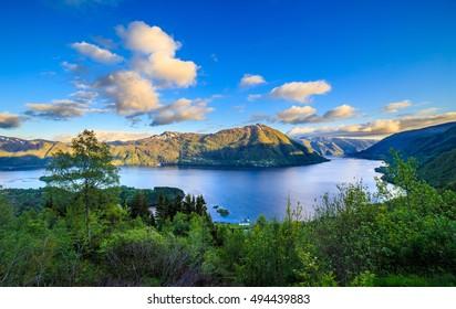 Fjord in Norway, Hordaland