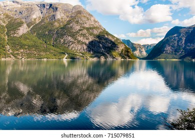 Fjord reflection, Norway