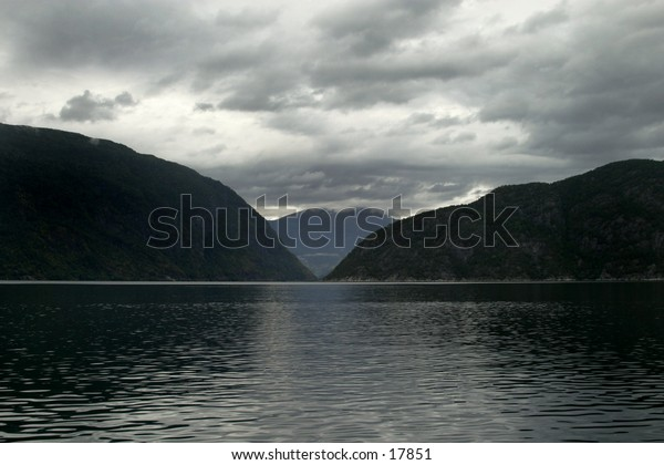 A fjord in western Norway.