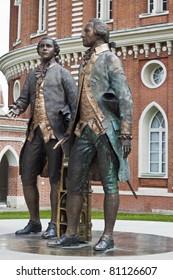 F.Kazakovu and V.Bazhenovu's monument.