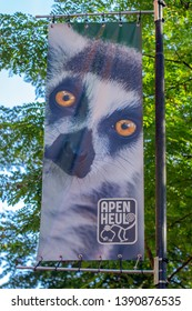 Flag At The Apenheul Zoo Apeldoorn The Netherlands 2018