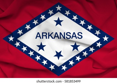 Flag of Arkansas state (USA)