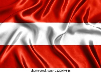 Flag of Austria Silk